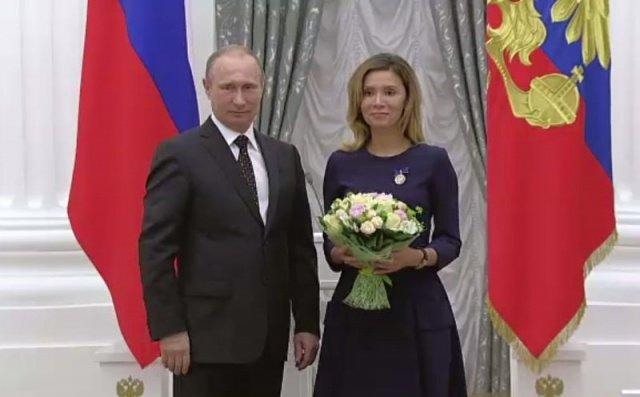 Аббасова и Путин