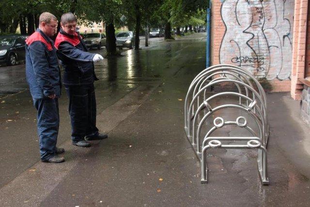 Калининград - велопарковки