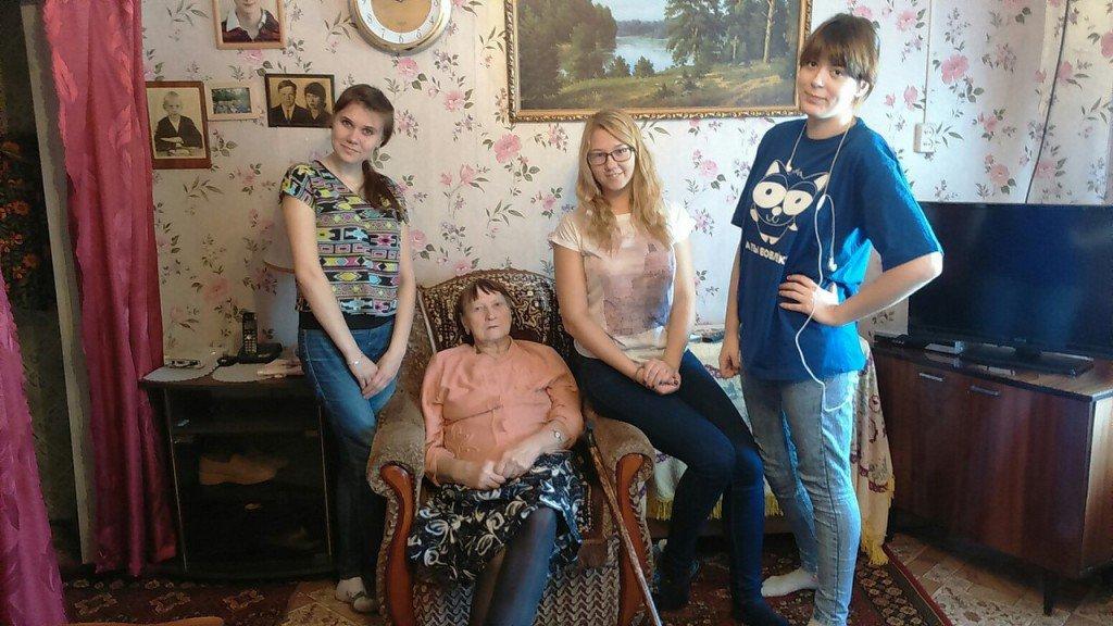 Помощь пожилым людям на дому волонтерами дом престарелых вакансии с проживанием