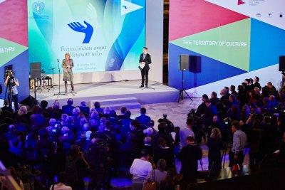 ВПетербурге вручили премию «Меценат года»