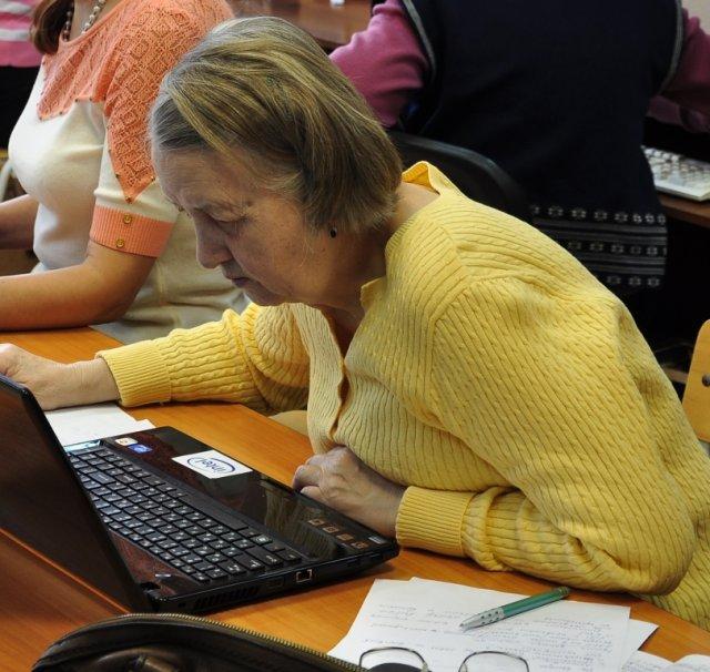 """Участница программы """"Статус: онлайн"""" в Новосибирске"""