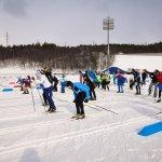 Мурманск лыжня добра сбор средств на лечение