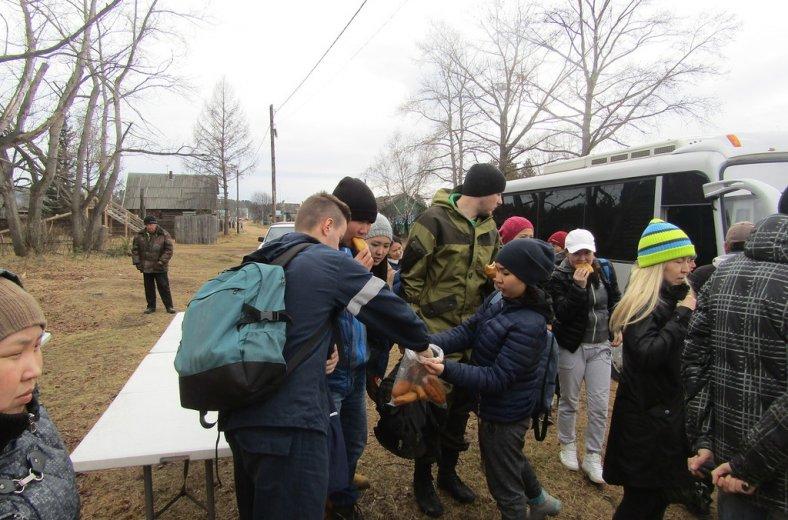 Улан-Удэ пожар волонтеры