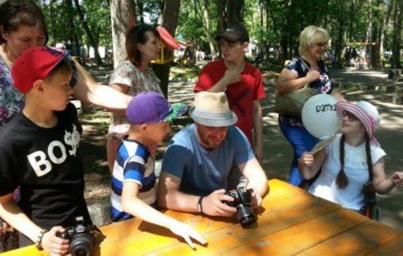 В Нижнем Новгороде организовали инклюзивную фотомастерскую