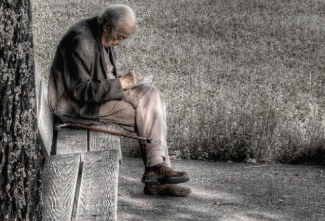 пенсионер старик дедушка