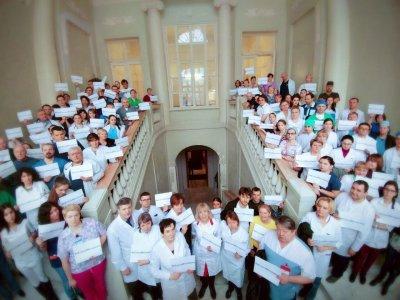 В российской столице согласовали митинг вподдержку врача-гематолога