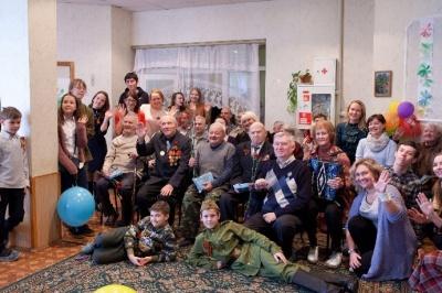 Поздравление в домах престарелых пансионат для пожилых людей в магнитогорске