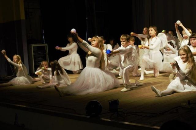 Танцевальные занятия для особенных детей